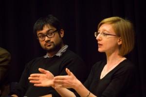 Helen Swift (French) and Matt Garraghan (Pembroke College)